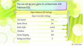How do I link games and transfer Pokémon from Pokémon GO to Pokémon